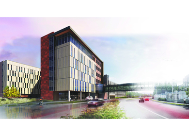 ANTHC Patient Housing and Sky Bridge