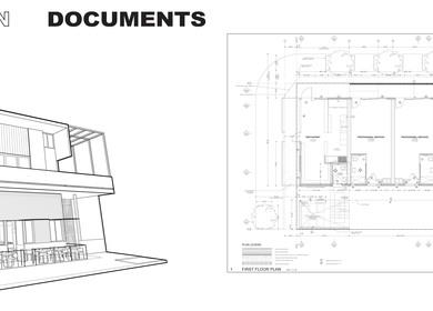 Construction Documents -samples (La Esquina)