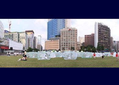 Nets Go at Seoul Plaza