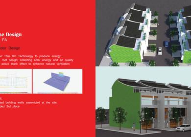 Energy Efficient Row House