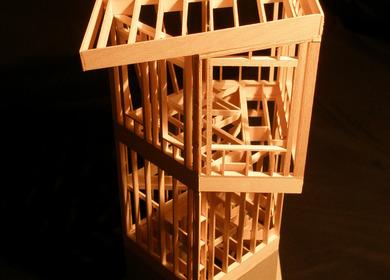 Wood Frame Watchtower