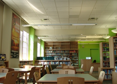 William W. Niles JHS 118 School Library