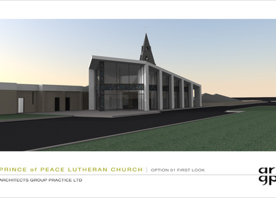 Prince of Peace Lutheran Church Renovation
