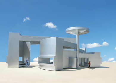 The Radius Transformation Pavilion