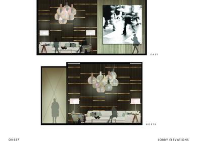 One57 57th street lobby renovation
