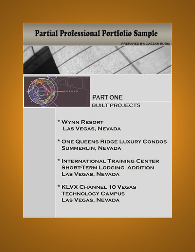Partial Work Portfolio