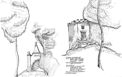 Study Abroad Sketches