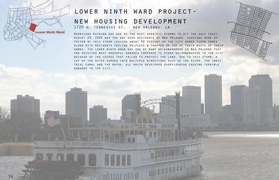 Lower Ninth Ward Project - New Housing Development