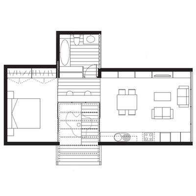 Experimental house unit, 2006