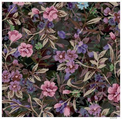 Summer Flower wallpaper pattern