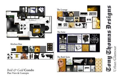 THE BOLD & GOLD CONDO
