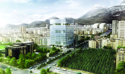 Tehran New Stock Exchange Headquarter