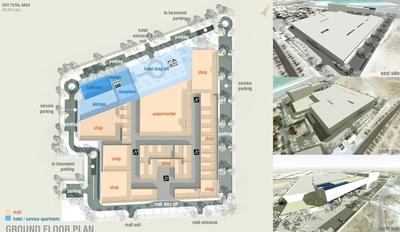 Al Shamal Mall + Hotel