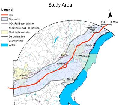 "• UTC project ""Understanding the Impacts of Climate Change on the Interstate 95 Transportation Corridor in Maryland and Delaware"":"