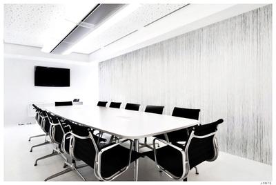 White rain - Wallpaper design