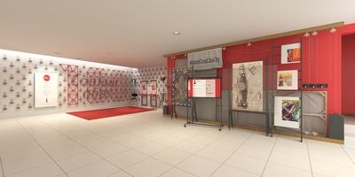 Facade and foyer of Coca-Cola City Theatre