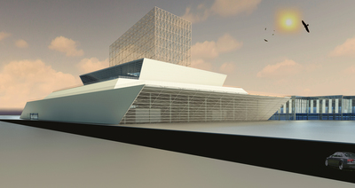 Graduate Thesis Project - Centro Cultural de la Ciudad de México
