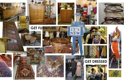 GET DRESSED- Vintage Clothing & Furniture Store