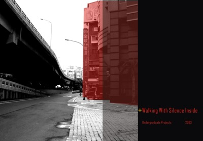 Walking with silence inside