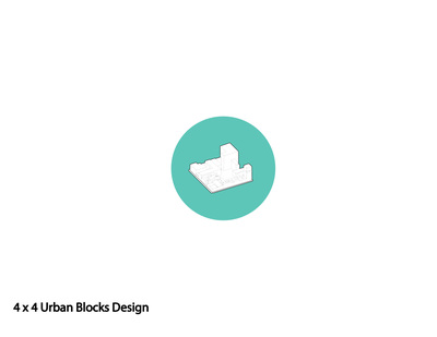 4 x 4 Urban Blocks Design