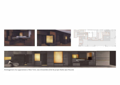 Apartment in New York in a Jean Nouvel building (Atelier Jean Nouvel)