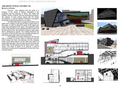 ARCHITECTURAL STUDIO 7-8: DANCE CENTER