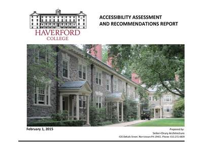 ADA Accessibility Assessment for Haverford College