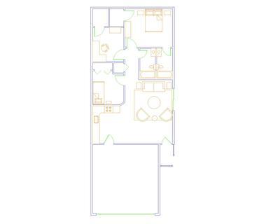 Floor Plan- Ranch Style