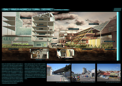 POST INDUSTRIAL AGRICULTURAL CITY RIBA COMPETITION
