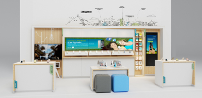 Movistar Experience Zone for new branch