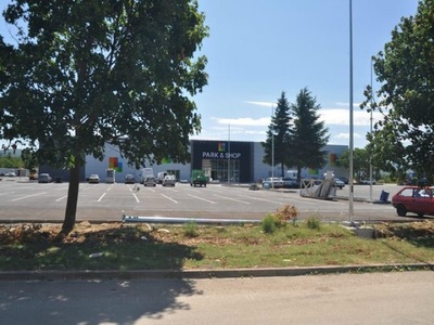 Shopping center in Imotski, Croatia