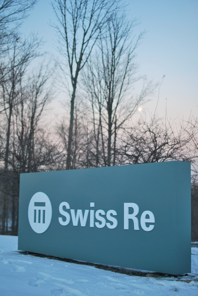 Swiss Re International Signage Reveal