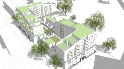 Acton Gardens - Masterplan Phase 1
