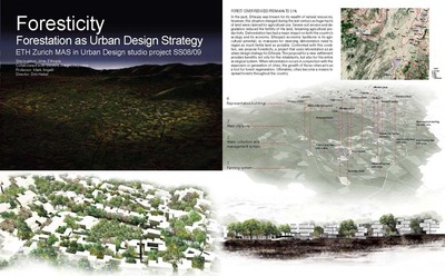 Foresticity / Forestation as Urban Design Strategy
