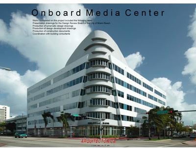 Onboard Media Center-Office/Parking