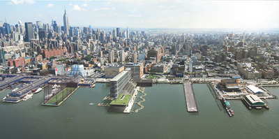 MINIhattan: A proposal for new density along Manhattan's waterfront - and the extension of the highline.
