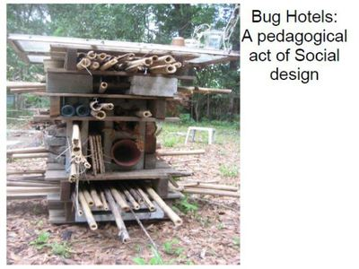 Bug Hotels: A pedagogical act of Social design