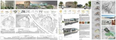 Urban Oasis, Eilat city hall