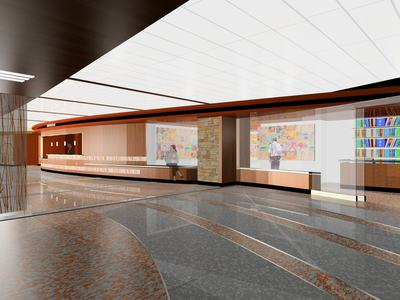Entry and Lobby Renovation @ Westchester Medical Center