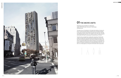 Micro Units - High rise Residential design in New York city