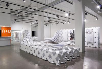 2x8 EVOLVE AIAILA Exhibition Design Cellular Complexity