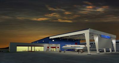 B. Coleman Aviation FBO & Hangar