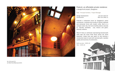 Prakruthi: an affordable home