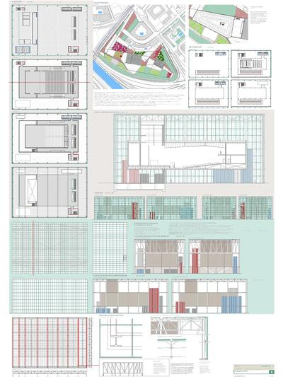 "Orona private concourse for Alfonso X "" EL SABIO "" university"