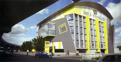 Big Yellow Self Storage, Chiswick, London