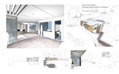 Guest house: rendering practice