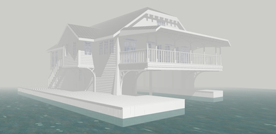 1000 Islands Boathouse Concept