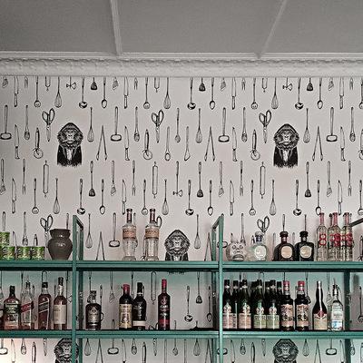 F12 Night club wallpaper design