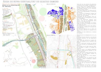 QUATRE CAMINS (ETSAB, 2010) Urban planning