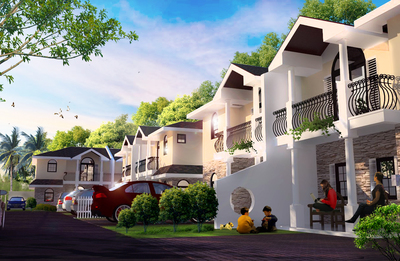 Small Townhouse Complex Units